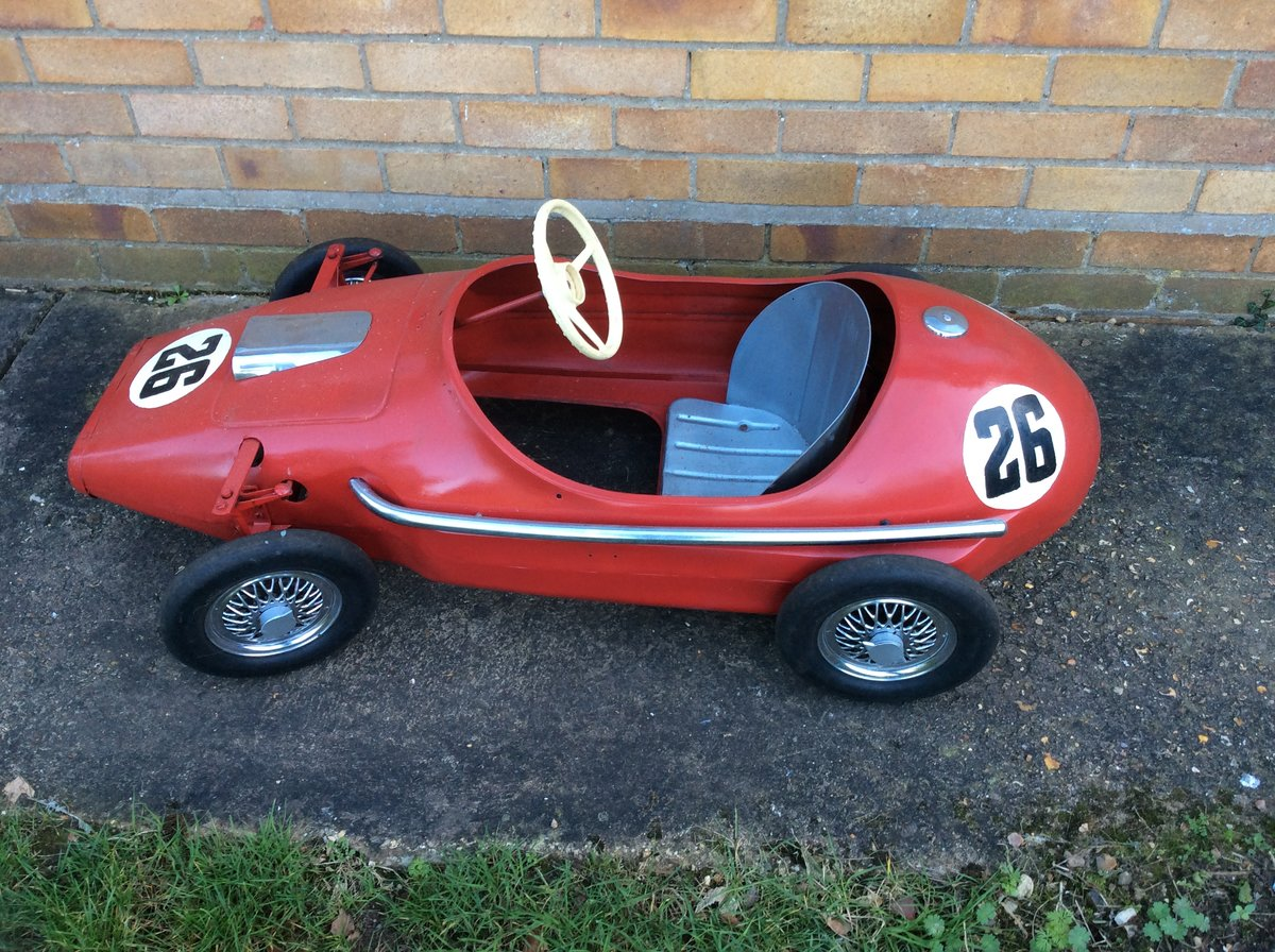 Child's Grand Prix Racer Pedal Car For Sale (picture 1 of 6)