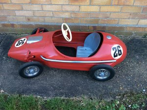 Child's Grand Prix Racer Pedal Car