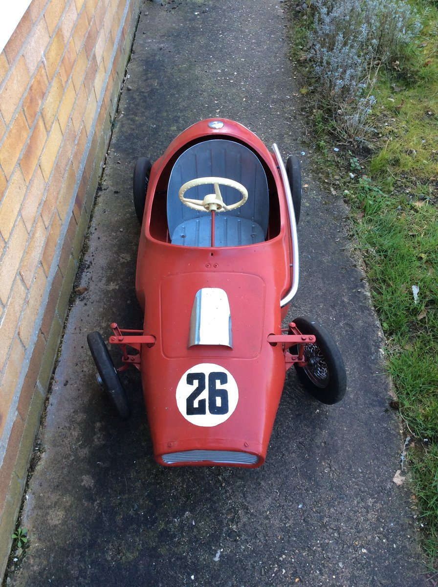 Child's Grand Prix Racer Pedal Car For Sale (picture 2 of 6)