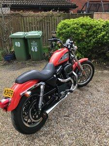 2002 Harley Davidson Sportster 883R 1200cc Conversion