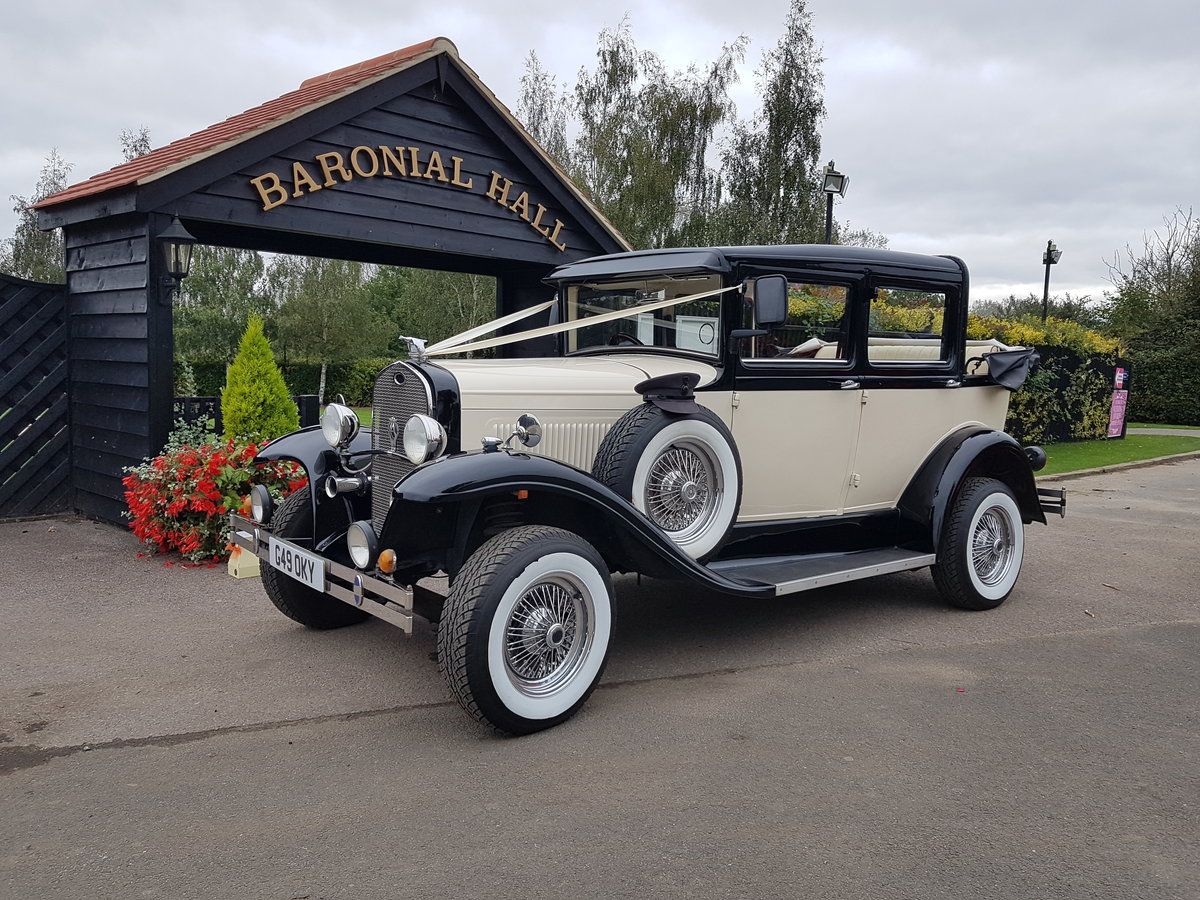 2002 Badsworth Landaulette Wedding Car For Sale (picture 1 of 4)