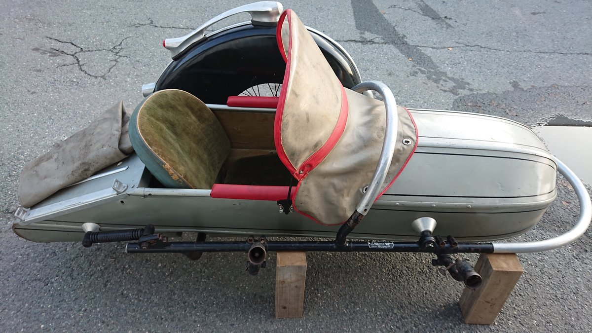 1954 Steib s350 Sidecar For Sale (picture 2 of 4)