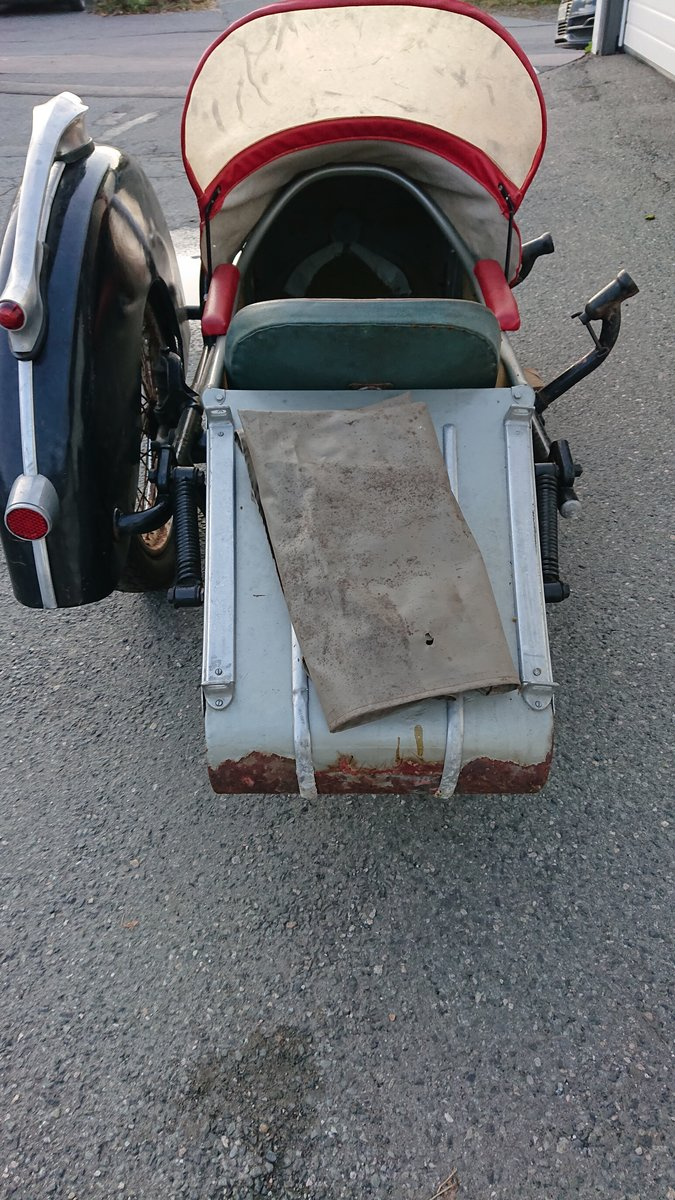 1954 Steib s350 Sidecar For Sale (picture 3 of 4)