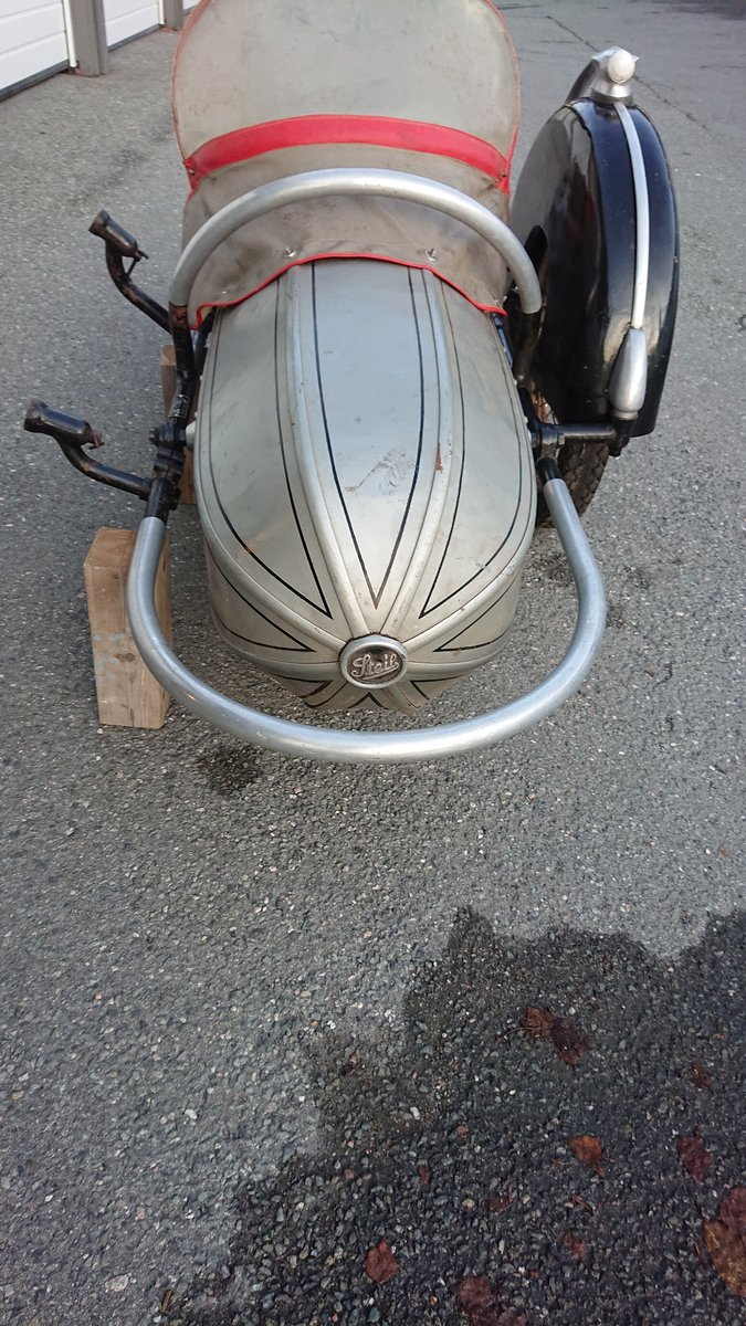1954 Steib s350 Sidecar For Sale (picture 4 of 4)