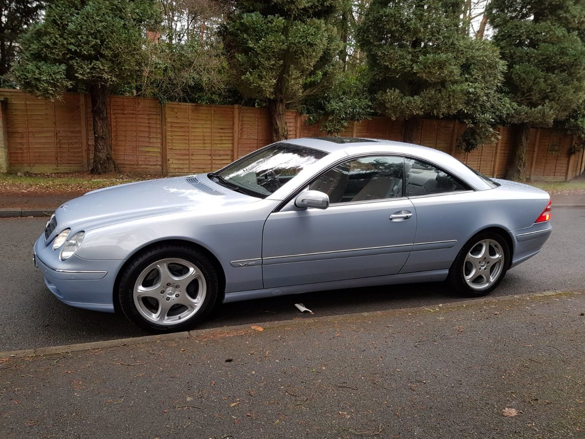 2000 Stunning CL600 SOLD (picture 5 of 6)