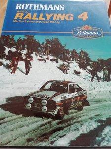 1981 Rothmans World Rallying 4