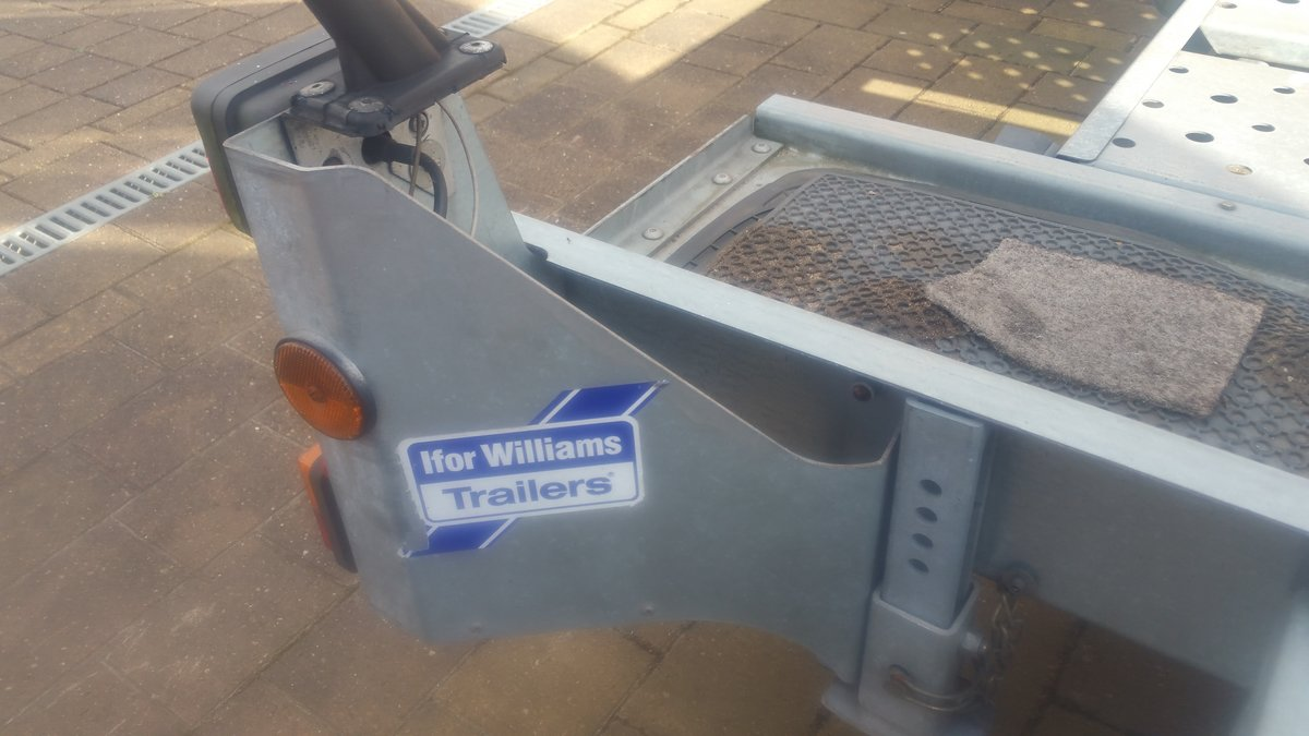2016 Ivor Williams Car Trailer For Sale (picture 4 of 4)
