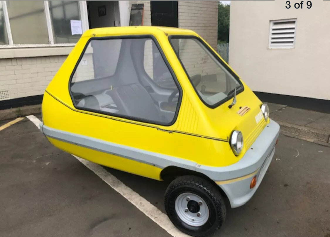 1984 Bamby Microcar bubblecar For Sale (picture 1 of 4)