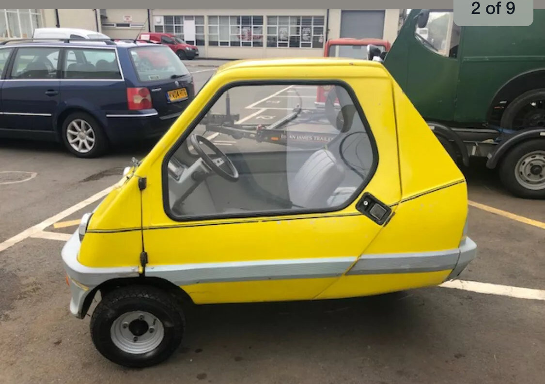 1984 Bamby Microcar bubblecar For Sale (picture 2 of 4)