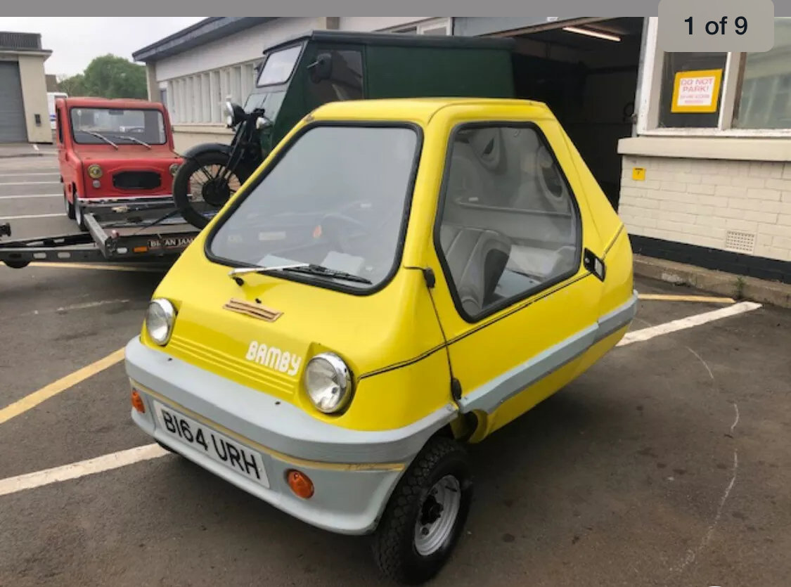 1984 Bamby Microcar bubblecar For Sale (picture 3 of 4)