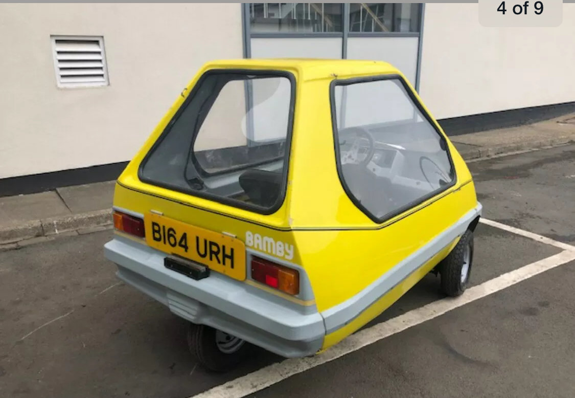 1984 Bamby Microcar bubblecar For Sale (picture 4 of 4)