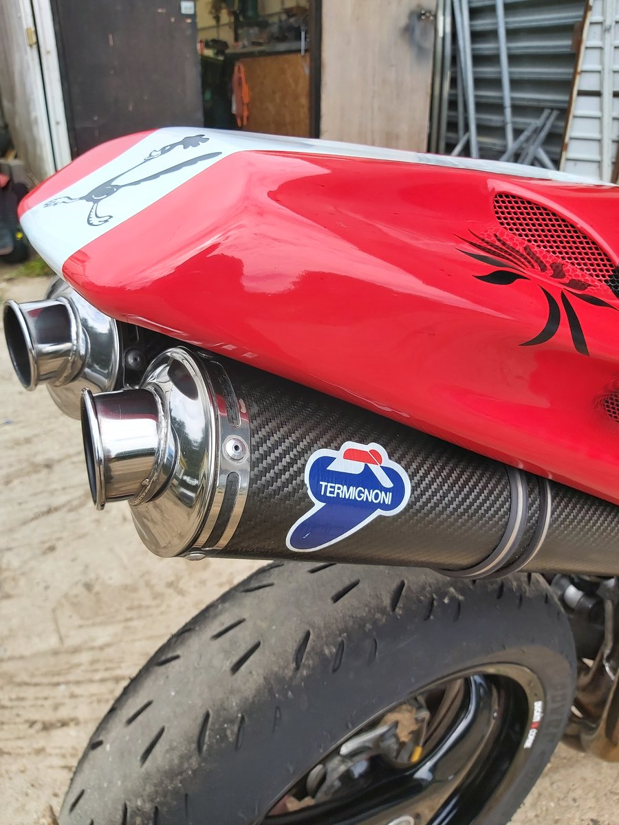 2000 Ducati 916 track bike For Sale (picture 4 of 6)