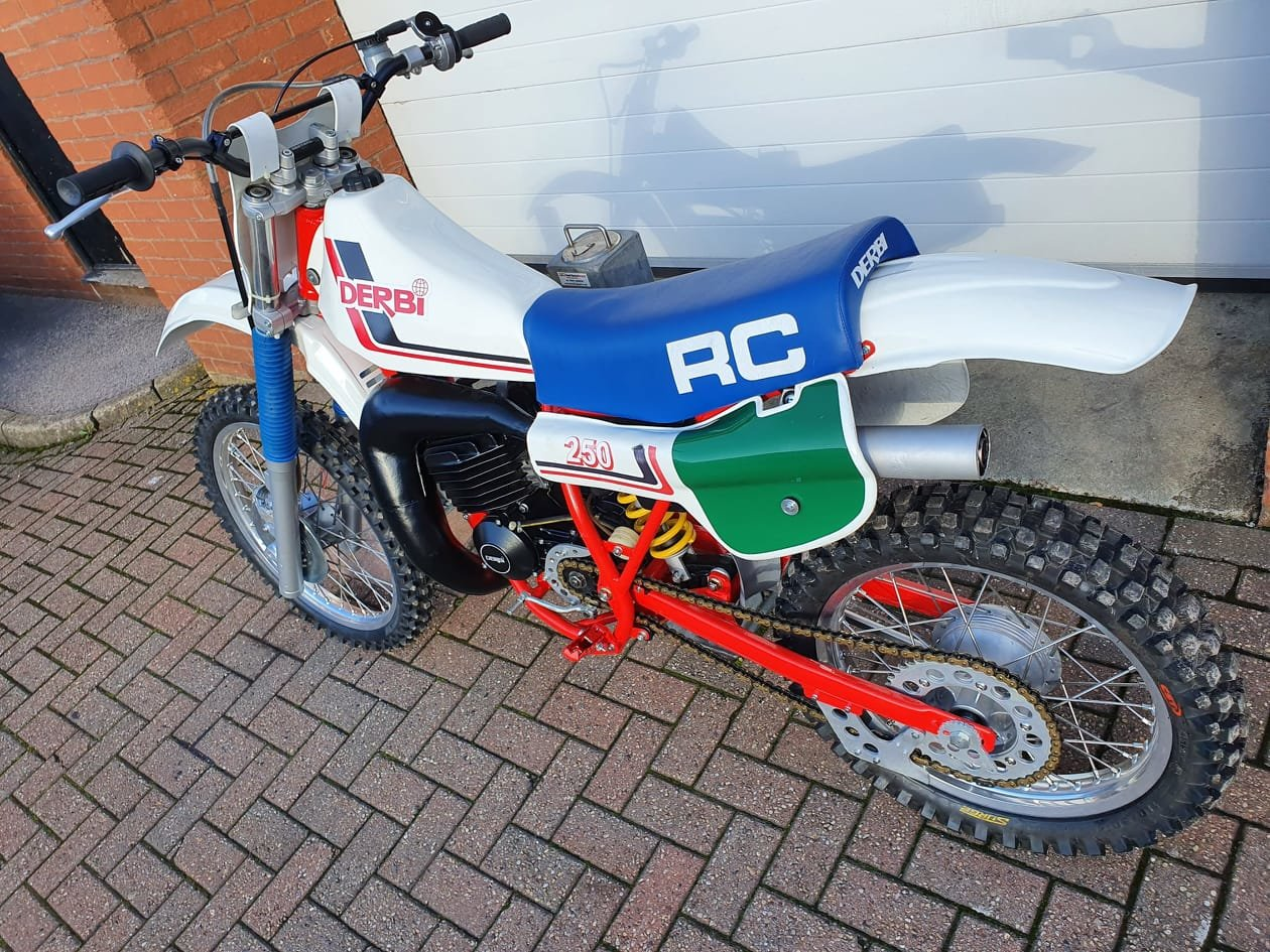 Picture of 1983 DERBI RC250 motocross bike For Sale