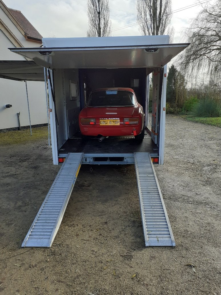 2013 Motorsports Trailer With Accomodation-DEPOSIT TAKEN For Sale (picture 2 of 12)