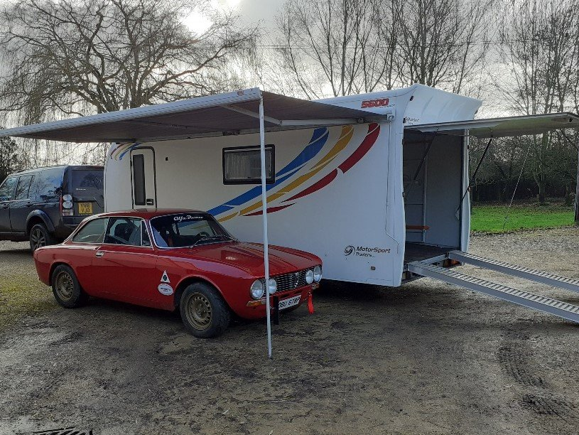 2013 Motorsports Trailer With Accomodation-DEPOSIT TAKEN For Sale (picture 11 of 12)