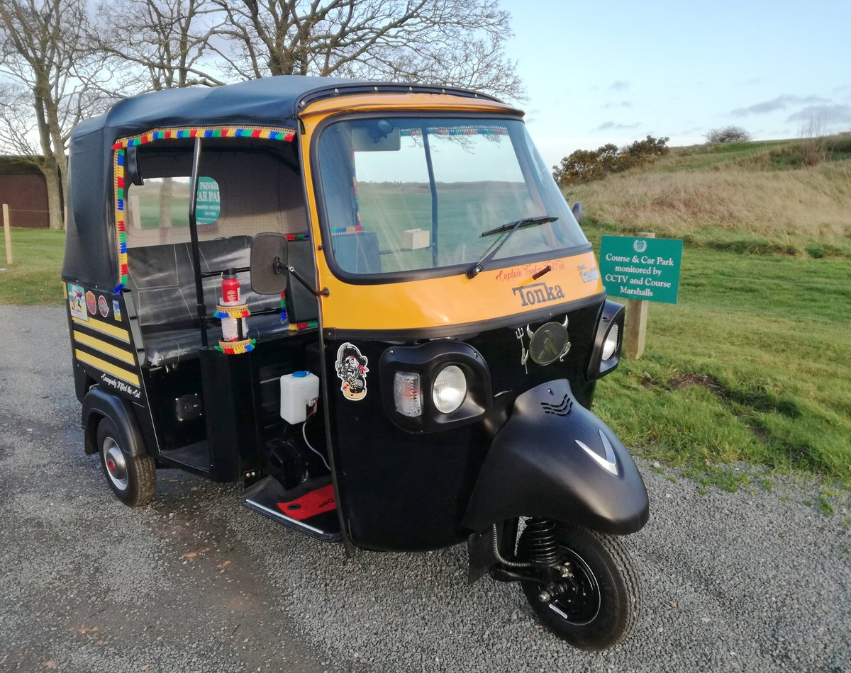 2020 Atul Tuk tuk 70reg, just 9 miles, ready to go. SOLD (picture 1 of 6)