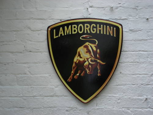 Lamborghini Wall Sign For Sale Car And Classic