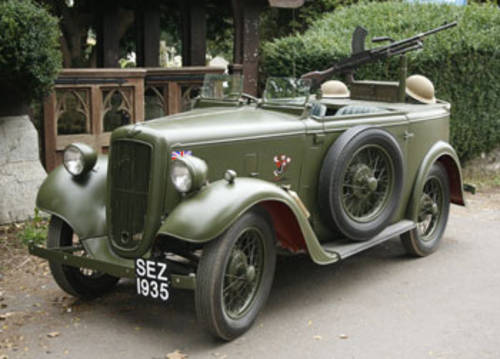 1935 Military Reconnaisance Tourer for Hire in Dorset   For Hire (picture 1 of 5)
