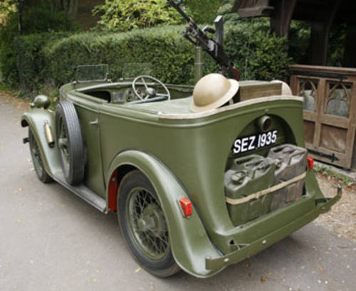 1935 Military Reconnaisance Tourer for Hire in Dorset   For Hire (picture 2 of 5)