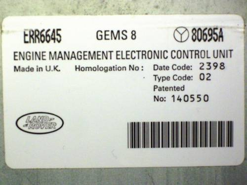 Gem's ECU For Sale (picture 2 of 2)