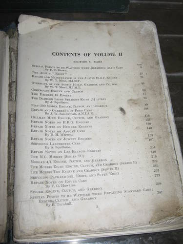 1920 vintage motor repair  books For Sale (picture 2 of 5)
