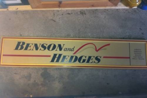 B&H - Jordan formula1 related sign For Sale (picture 1 of 1)