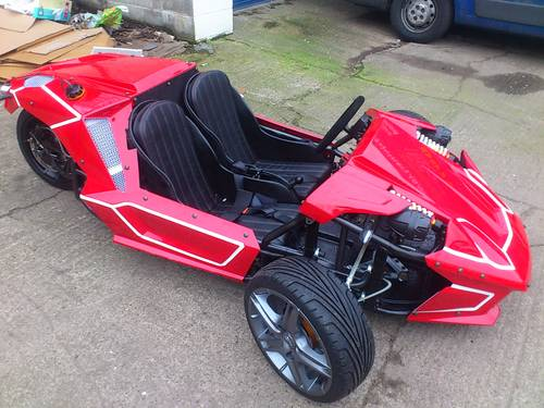 2013 Scorpion 3 wheeler street legal car Brand new 2020 For Sale (picture 2 of 6)