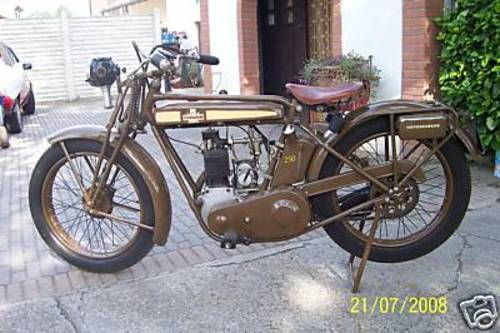 1925 Motosacoche 250 four strokes For Sale (picture 1 of 3)