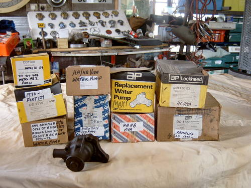 1960 Range of New Water Pumps For Sale (picture 1 of 6)