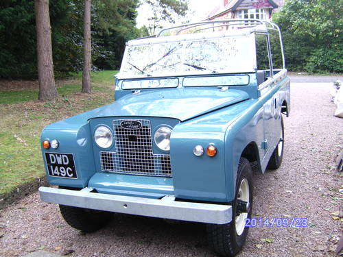 1965 Land Rover Series 2a Swb Petrol Restored  Sold