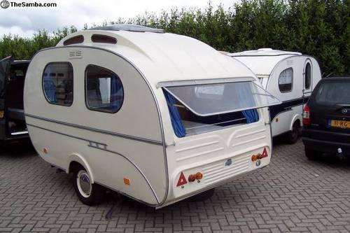1961 1967 Mosterd Yvonne Vintage Teardrop Caravan SOLD ...
