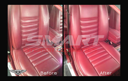 Mobile Leather car seat repair, connolising,  (picture 4 of 6)
