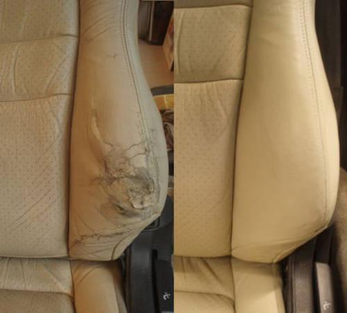 Mobile Leather car seat repair, connolising,  (picture 6 of 6)