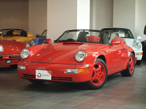 1993 Premium Condition Porsche 964 Speedster For Sale (picture 1 of 6)