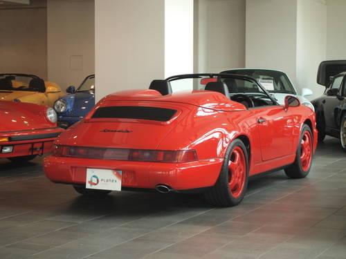 1993 Premium Condition Porsche 964 Speedster For Sale (picture 2 of 6)