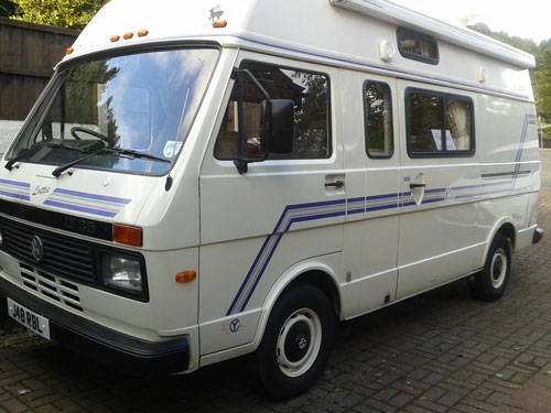 volkswagen lt35 camper