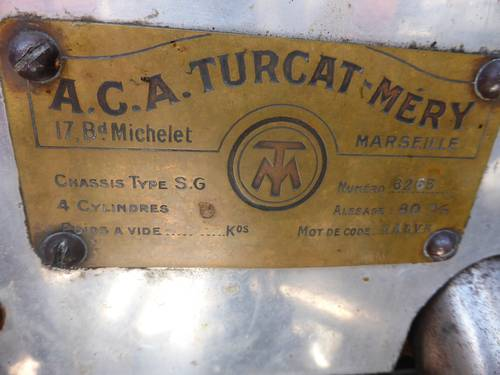 1922 Turcat Mery (ultra rare)  SOLD (picture 4 of 6)