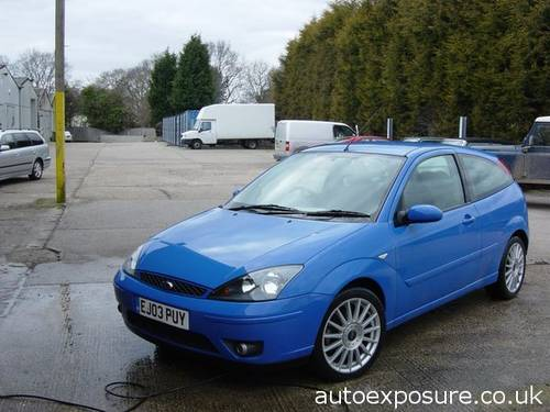 2003 FORD FOCUS ST 170 ULTRA LOW MILEAGE For Sale (picture 1 of 6)