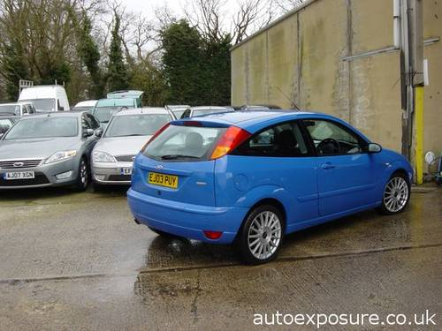 2003 FORD FOCUS ST 170 ULTRA LOW MILEAGE For Sale (picture 3 of 6)