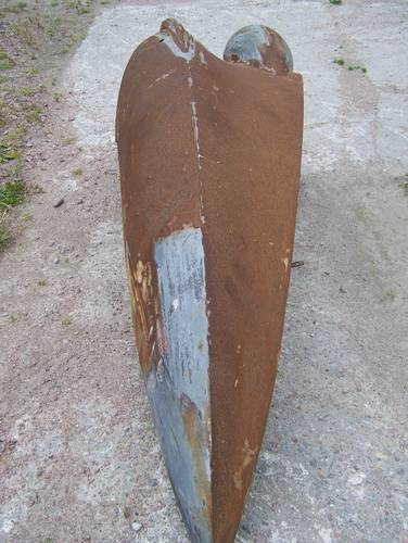 1950 Bentley Mk6 front wings For Sale (picture 4 of 6)