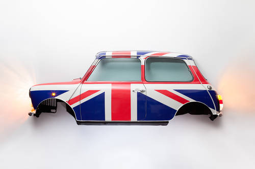1985 CLASSIC MINI WALL ART For Sale (picture 1 of 6)