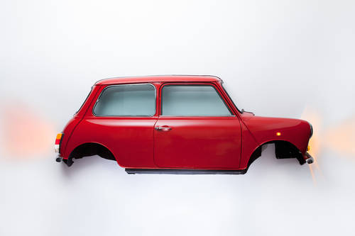 1985 CLASSIC MINI WALL ART For Sale (picture 4 of 6)