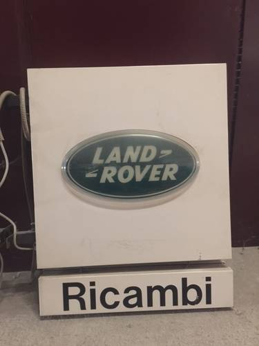 LAND ROVER LIGHTED SIGN For Sale (picture 1 of 2)