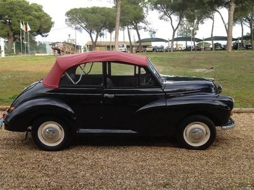 1954 Morris Minor Black Cabrio For Sale (picture 2 of 6)