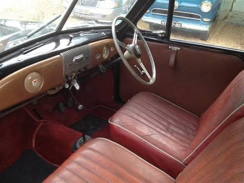 1954 Morris Minor Black Cabrio For Sale (picture 4 of 6)