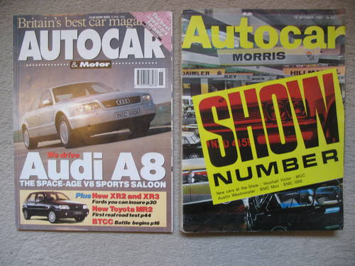 Variety of Motoring Literature for sale For Sale (picture 2 of 5)