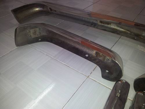 Mercedes Benz W113 Stainless Steel Bumper For Sale (picture 4 of 6)