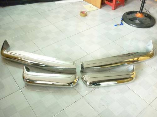 Mercedes Benz W113 Stainless Steel Bumper For Sale (picture 5 of 6)