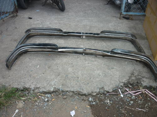 Mercedes Benz W108/W109 Stainless Steel Bumper For Sale (picture 4 of 4)