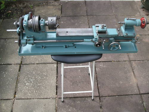 Lathe For Sale >> Small Screwcutting Bench Lathe For Sale Sold Car And Classic